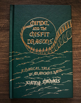 Mindel and The Misfit Dragons Book Cover Image